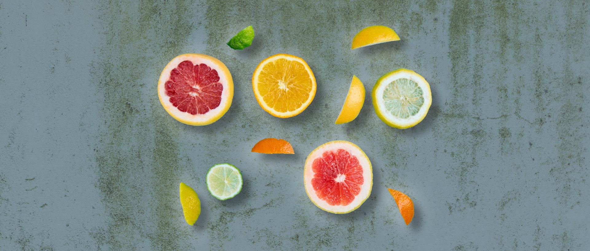 Økologiske citrusfrugter til lemonade