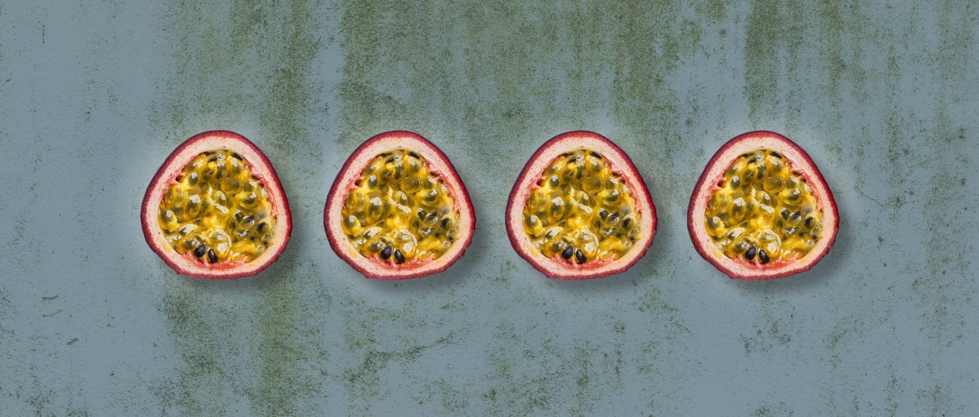 Økologiske passionsfrugter til nektar