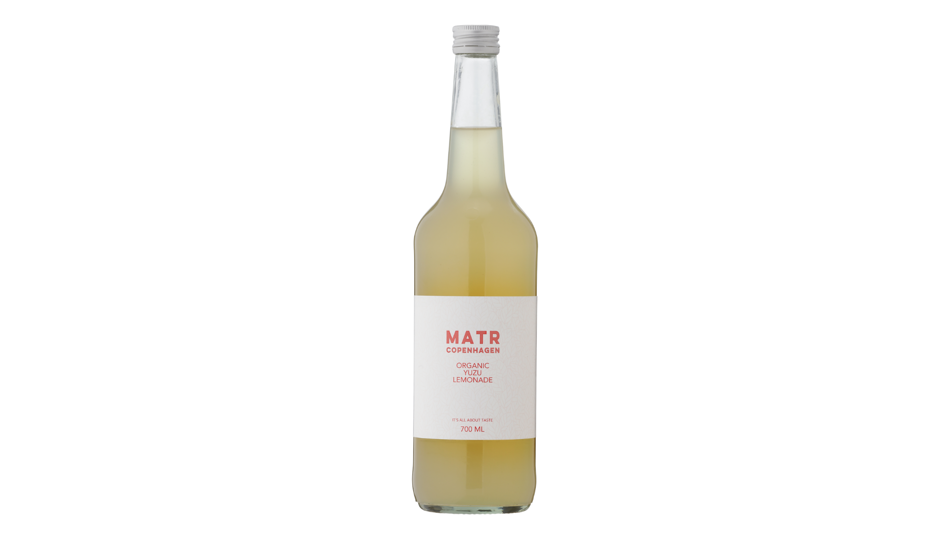 Økologisk yuzu lemonade i glasflaske